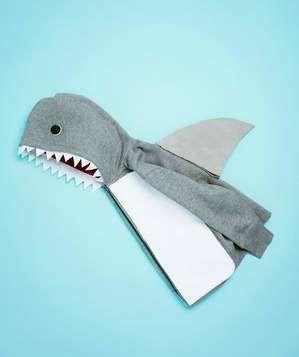 Shark costume how-to
