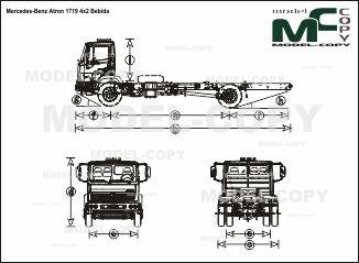 Mercedes-Benz Atron 1719 4x2 Bebida - drawing