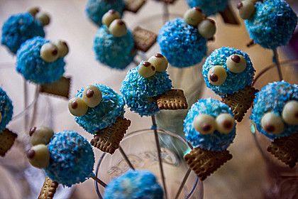 Krümelmonster Cake-Pops (Rezept mit Bild) von moosmutzel311 | Chefkoch.de