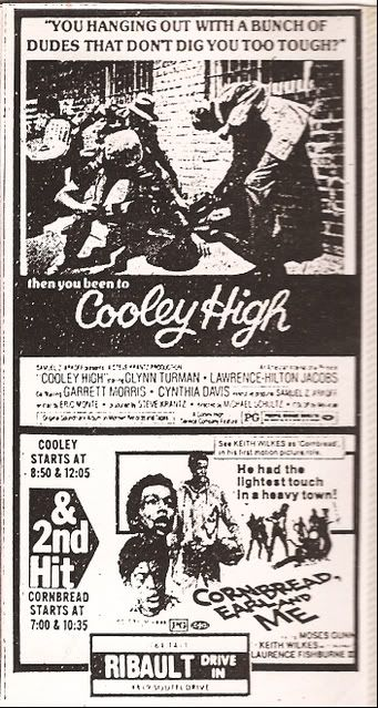 Cooley High / Cornbread, Earl and Me