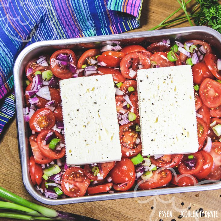 Feta aus dem Ofen – Essen ohne Kohlenhydrate – Kochen & Backen