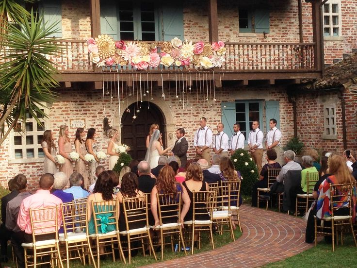 casa feliz in winter park is an excellent venue for both wedding and reception