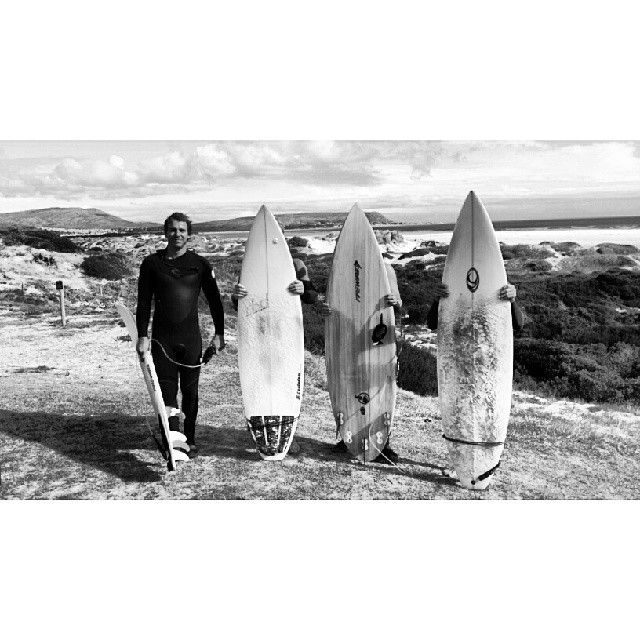 First surf session in Cape Town with the Oui Surf crew!