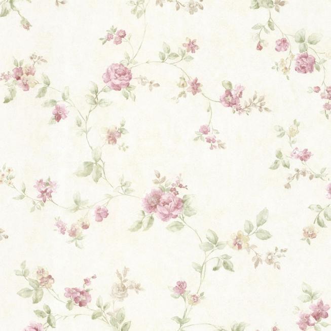 Fine Decor Wallcoverings Landhaus Tapete Vintage Rose 68332