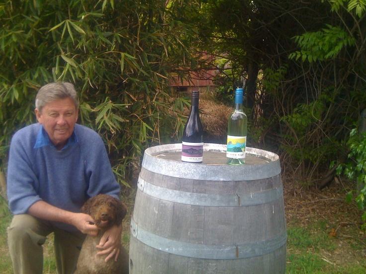 Vic Kent at Sleepy Hollow Vineyard - Bellarine Peninsula - International Cool Climate Wine Show entrant