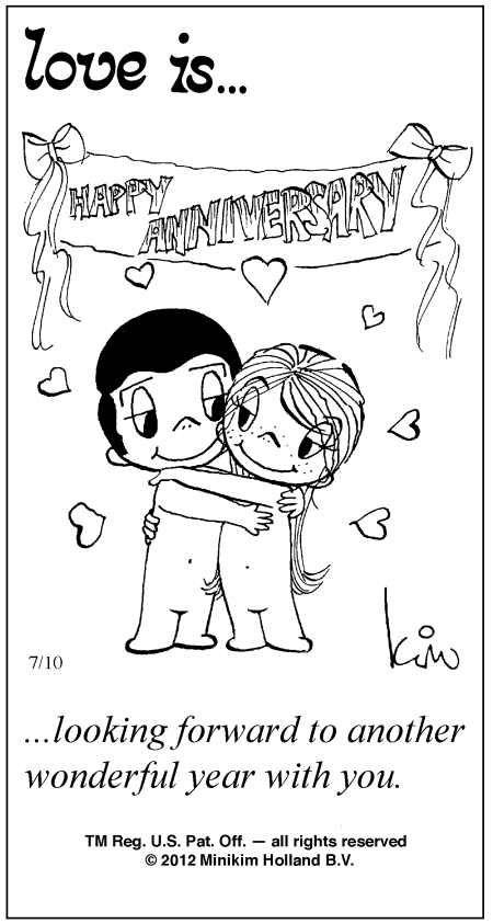 love is kim casali | Love Is ... Comic Strip by Kim Casali (July 10, 2012)