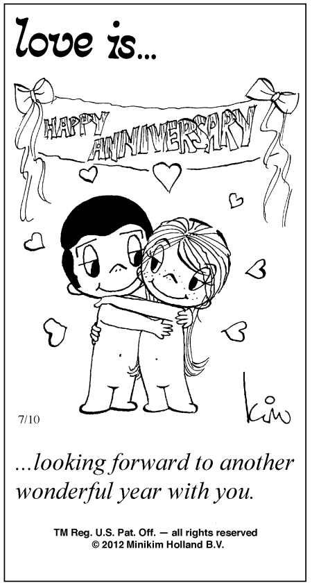 love is kim casali | Love Is ... Comic Strip by Kim Casali (July 10, 2012)
