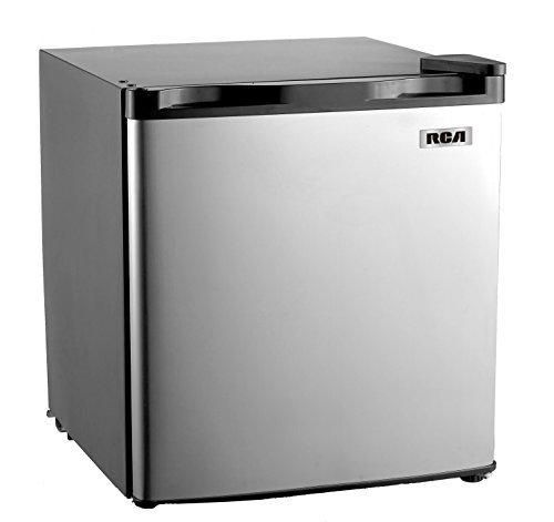 RCA RFR180 1.6-1.7 Cubic Foot Fridge with Spotless Steel Door Stainless Steel