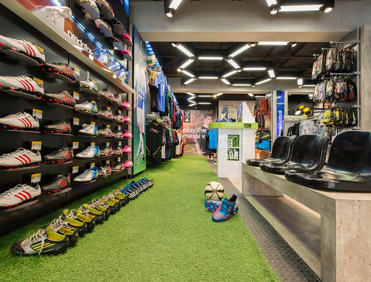The new 350 sq.m. four storey flagship for Ari Football is the largest…