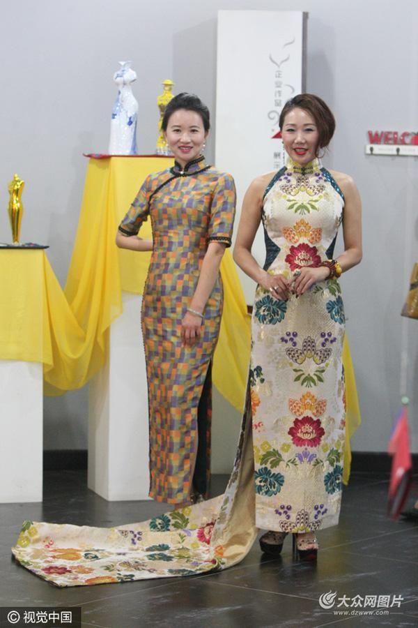 http://s4.sinaimg.cn/mw690/0044l3rLzy6NmNsMuMX73&690_1000+imagesaboutCheongsamladieswitholdstyleonPinterest Traditionaldresses
