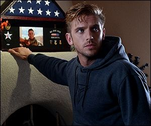 The Guest (2014) do yourself a favor and check out this film. A great little thriller with a difference. Dan Stevens is mesmerizing...it's those blue eyes and his acting talent obviously. Kinda glad he got bumped off on Downton. Better and brighter things.