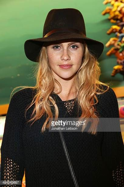Actress Claire Holt attends NYLON and Olay Fresh Effects Present Neon Carnival with GUESS on April 12 2014 in Thermal California