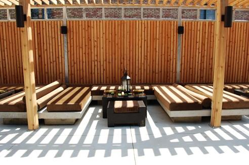 asian inspired patio decor