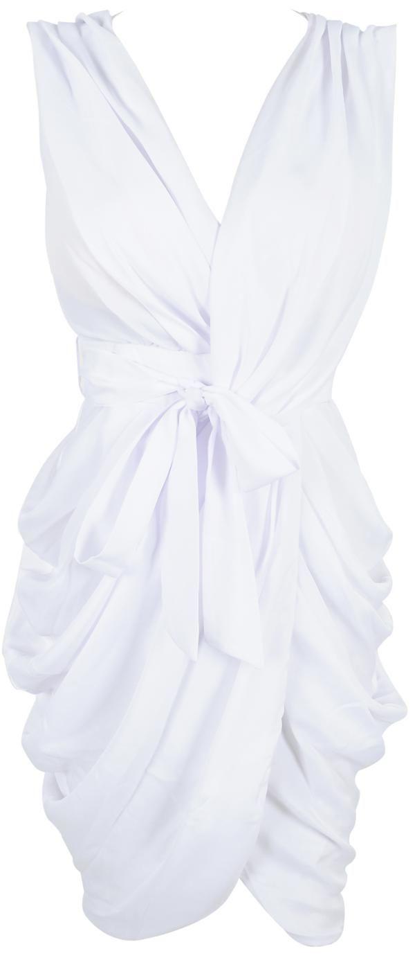 White Chiffon Wrap Dress: Wrap Dresses, Awesome Dresses, White Chiffon, Rehearsal Dinners Dresses, Wraps Dresses I V, Rehearsal Dinner Dresses, Chiffon Wraps, White Dresses, Bday Dresses