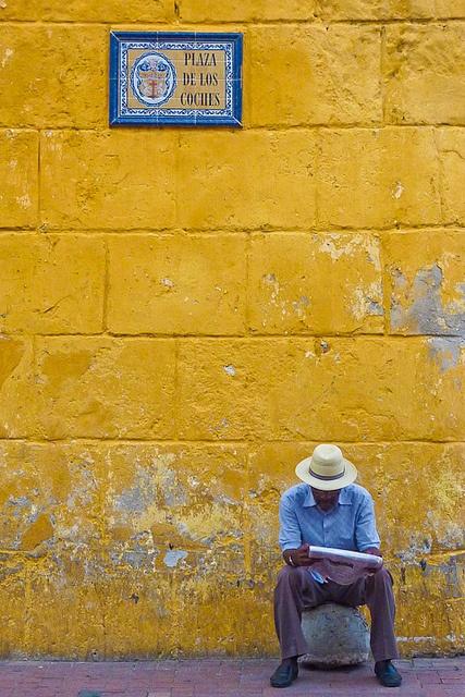 Noticias de Cartagena. Nicolas Monnot.  (Colombia, Cartagena de Indias, July 2011)
