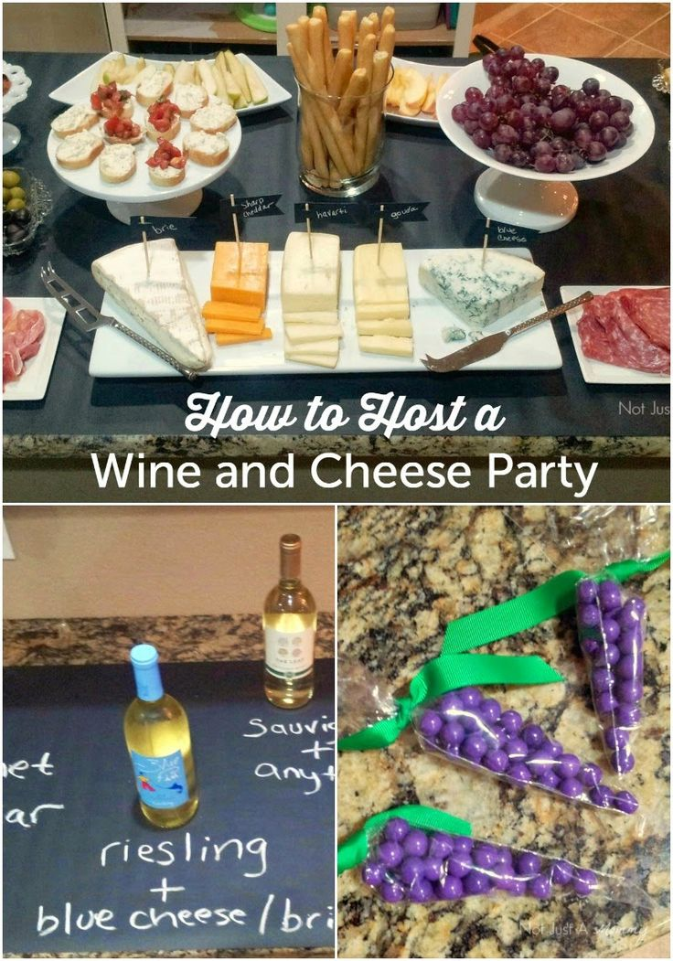 How To Host A Wine & Cheese Party   Revel and Glitter ...