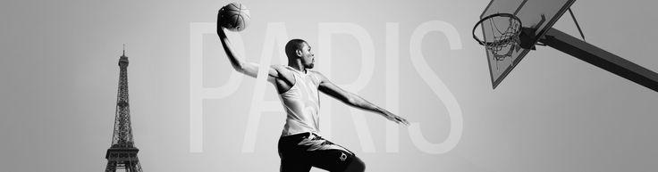 #Basketball Kevin Durant à Paris. #nike #nba
