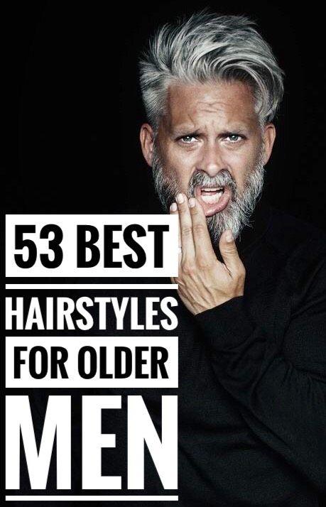 af96f9da82 53 Magnificent Hairstyles for Older Men  greyhair