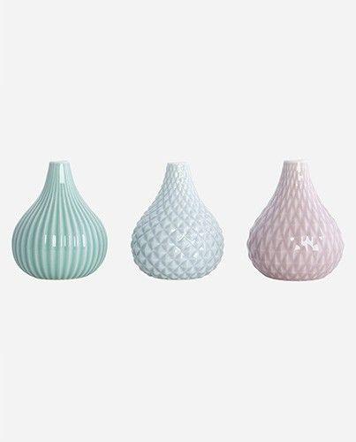 Jarrones cerámica de colores - Deco & Living