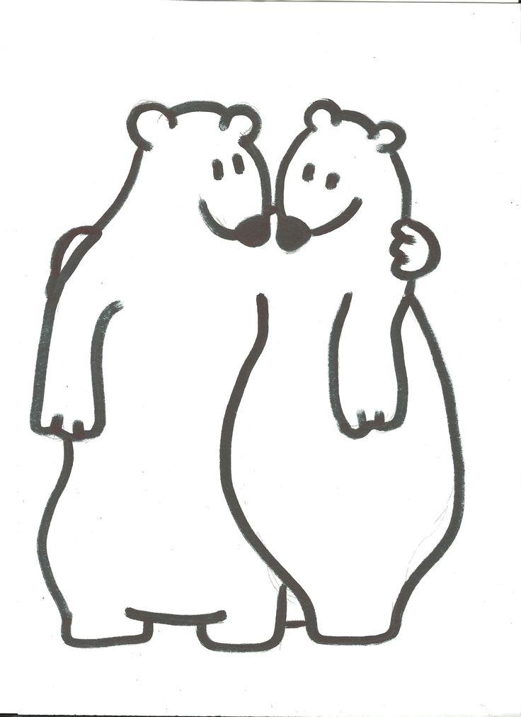 Intro : Week van de vriendschap :geef elkaar een langzame knuffel. je kan er dan langer van genieten