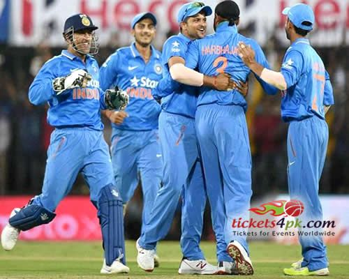 Indian skipper Mahendra Singh Dhoni's wonderful 92 backed the Indian bowlers hit back well in a low-scoring contest at Indore on Wednesday where India beat South Africa to level the series. Sports lovers can watch India v South Africa stunning Cricket action with Tickets4pk.com help confidently.