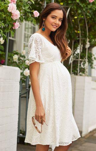 4d95a34ce7f7a Edith Kimono Dress in 2019 | wedding | Boho maternity dress, White ...