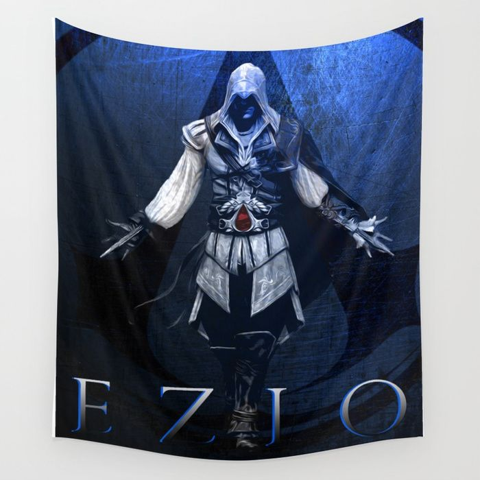 25% Off Everything With Code VDAY25 - Ends Tonight at Midnight PT. Buy Assassin's Creed Ezio Poster Wall Tapestry by scardesign. #sales #sale #discount #dorm #campus #deals #39  #gifts #giftideas #online #shopping #valentinesday #valentinesdaygifts #badass #popular #valentine #society6 #campus #dorm #streetwear #style #home #homedecor #homegifts #cool #awesome #family #giftsforhim #giftsforher #kids #gaming #gamer #geek #tapestry #walltapestry #ezio #gamersroom #gamingtapestry