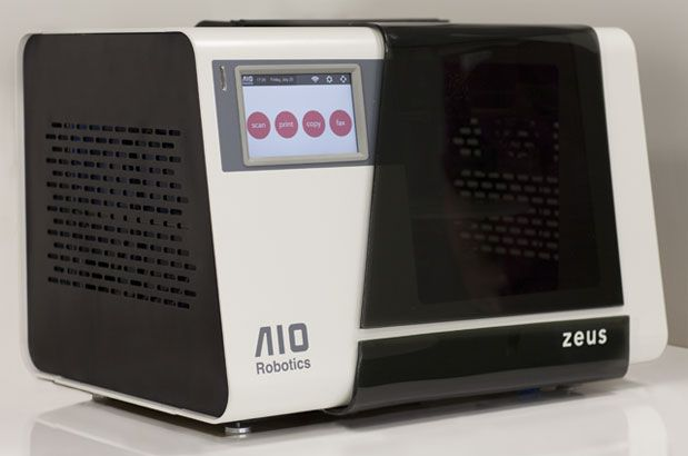 Zeus copy machine hits Kickstarter with all-in-one 3D printer, scanner and fax