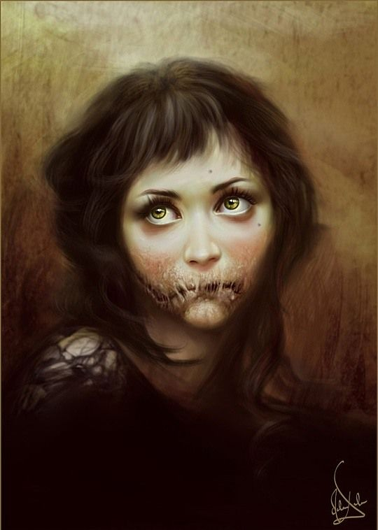 Awesome Digital Portraits by Melanie Delon