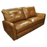 Found it at Wayfair - Bahama Leather Reclining Loveseat