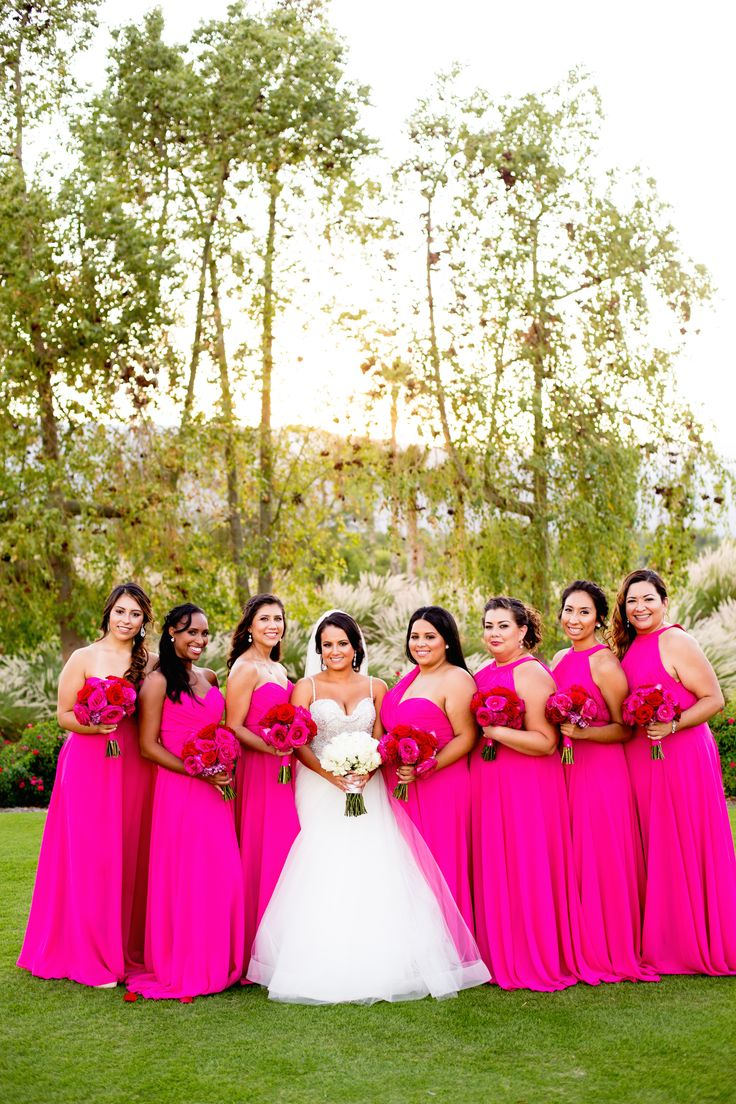 17 best ideas about magenta bridesmaid dresses on for Magenta dress for wedding