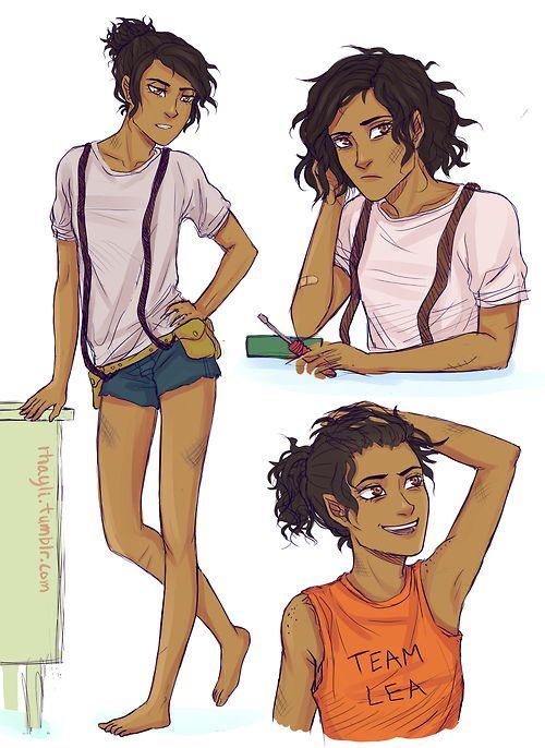 Heroes of Olympus Genderbent Leo || Haha team Lea || Percy Jackson ⇒ Heroes of Olympus ⇒ PJO ⇒ HoO