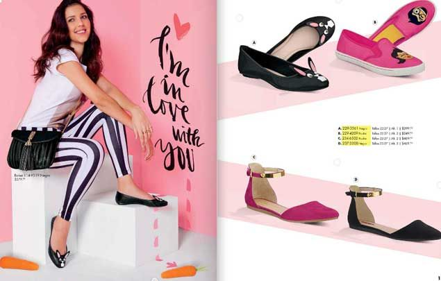 zapatos Andrea 2016 primavera Mexico