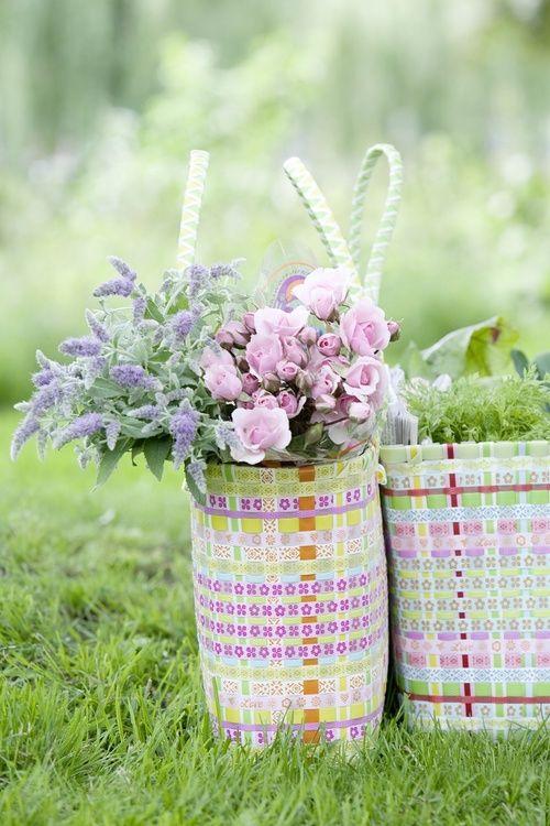 Pretty Spring Baskets