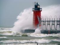 LighthousesLights House, Lake Michigan, Trav'Lin Lights, Michigan Lighthouses, Great Lakes, Lakes Michigan, South Haven, The Waves, Light Houses