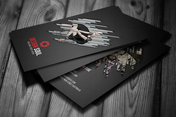 Photography Business Card by designsoul14 on @creativemarket
