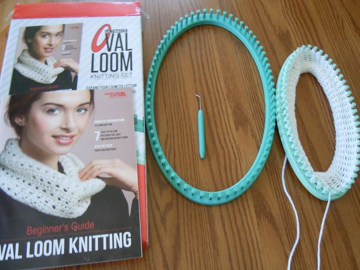 Knitting Loom Set South Africa : Review of leisure arts ultimate oval loom knitting set