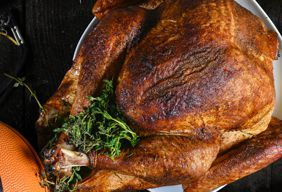 Dry Brine Traeger Turkey