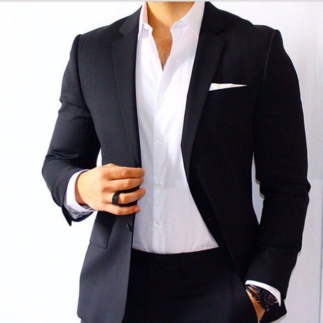 Best 25  Black suit blue shirt ideas on Pinterest | Dressy casual ...