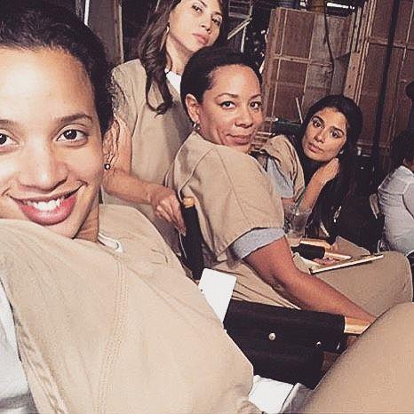 Orange is the New Black - Dasha Polanco, Elizabeth Rodriguez, Selenis Leyva, and Diane Guerrero