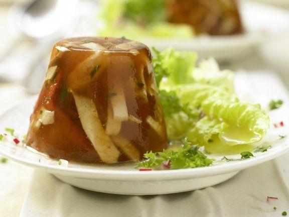 Rezept: Würzige Hähnchensülze