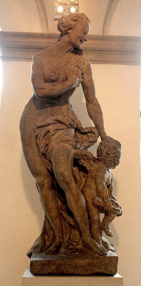 Mathias Bernard Braun - Venus(statue from attic of Clam-Gallas palace)1714-1716,Prague-National gallery