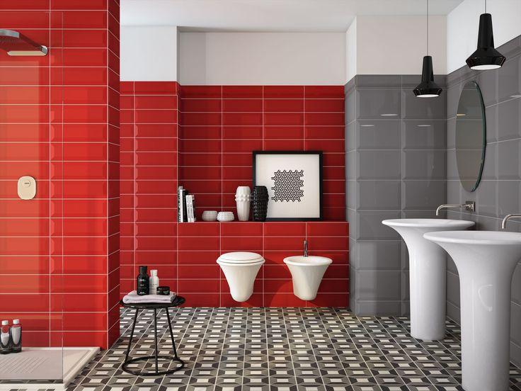 93 best Red Hot Interior Design images on Pinterest Architecture - badezimmer zonen