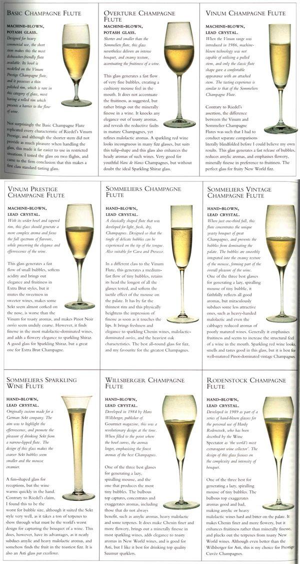 Champagne Tulip Glass Size