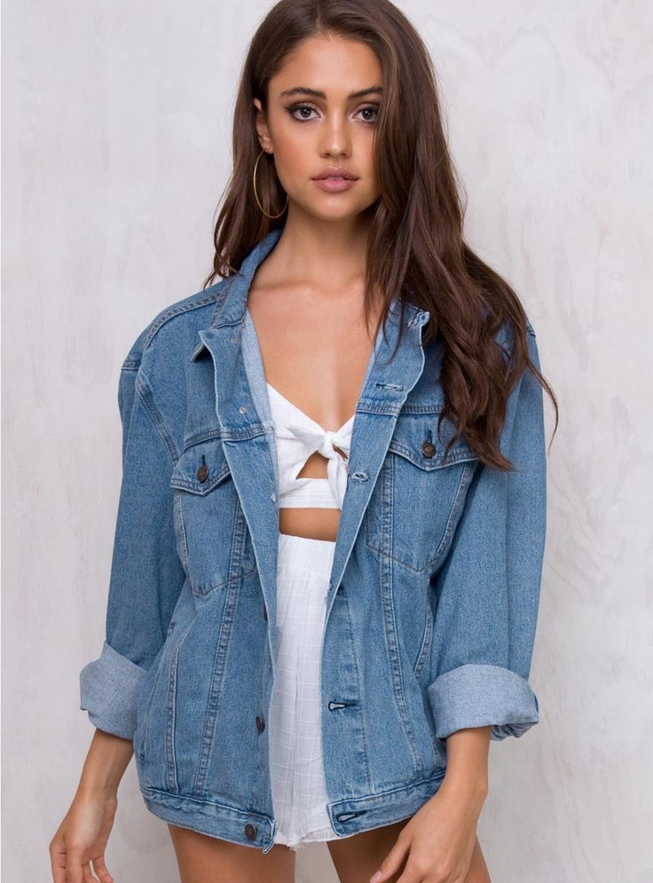 Western Denim Jacket   Free Express Shipping Over $50 & Free Returns Over $100