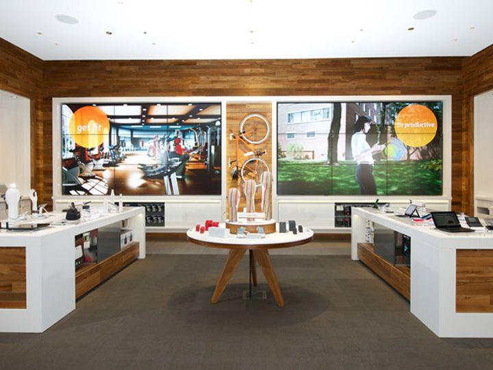 ATT flagship store Chicago Illinois 03 MOBILE STORES! AT&T flagship store, Chicago   Illinois