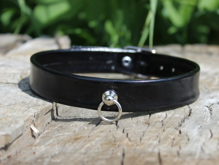 Leather Day Collar by BDDSSMToys on Etsy