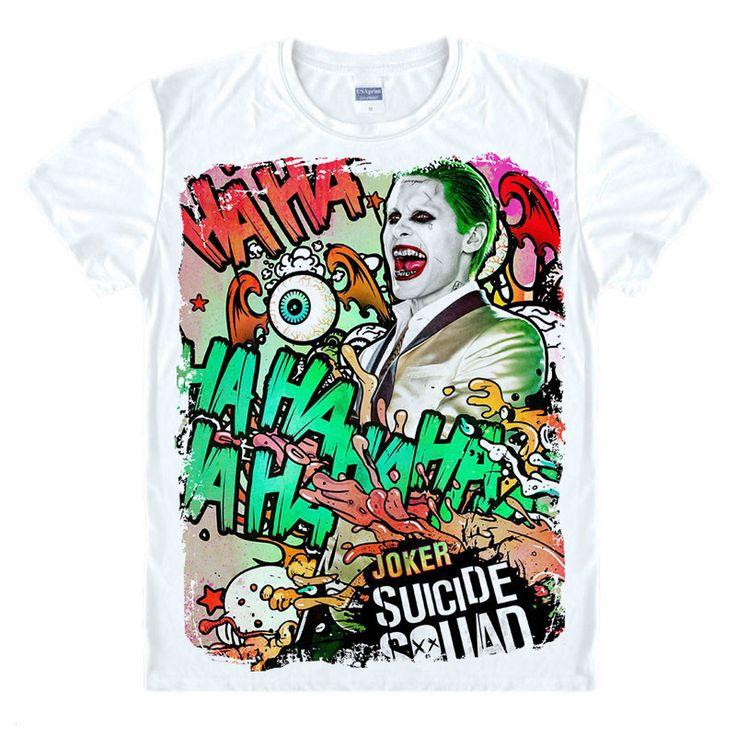 Joker Suicide Squad shirt //Price: $24.75 & FREE Shipping //     #dccomics  #cosplay  #catwoman #comiccon #comics #love #quinn #justiceleague #makeup