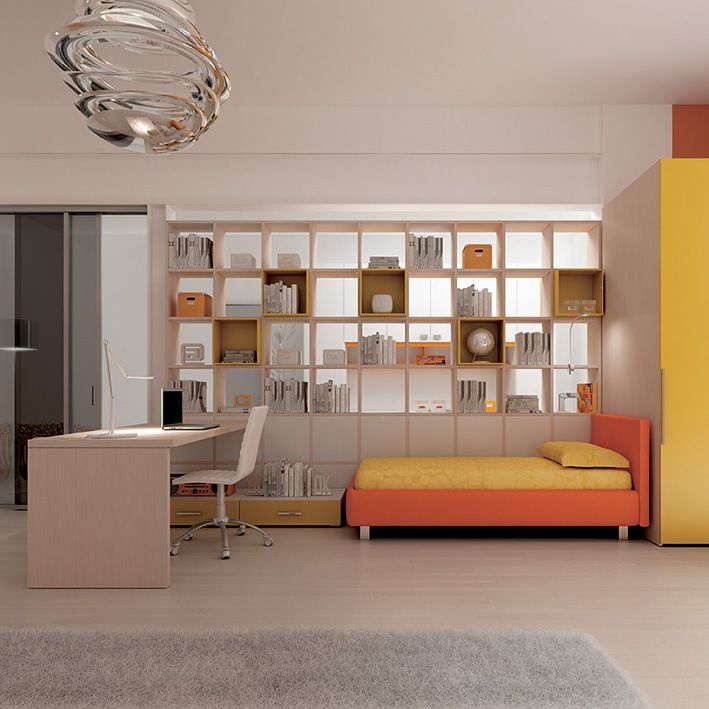 #Arredamento #cameretta catalogo Team for Young www.moretticompact.com