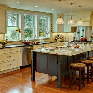 Farmhouse Kitchens With Islands